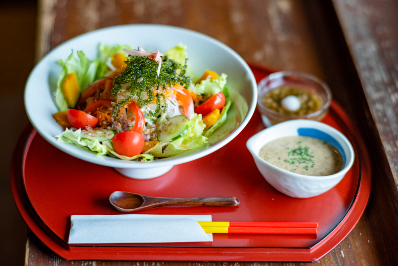 バジル冷麺 950円